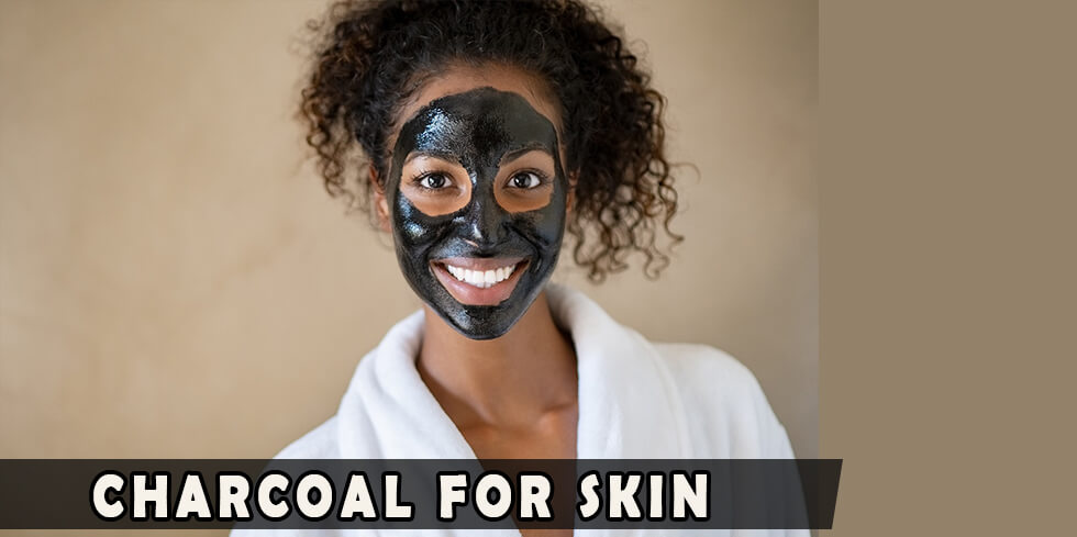 Charcoal mud for face