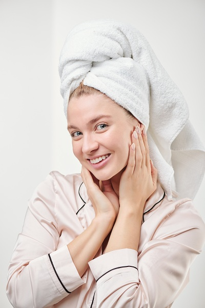Healthy skin young woman with a great smile