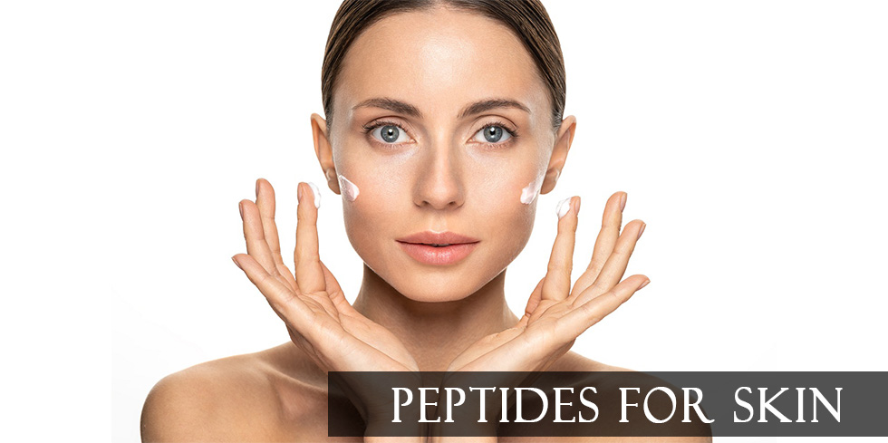 Peptides for a Woman Skin and Face
