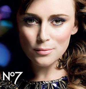 Boots No7 used by Keeley Hawes