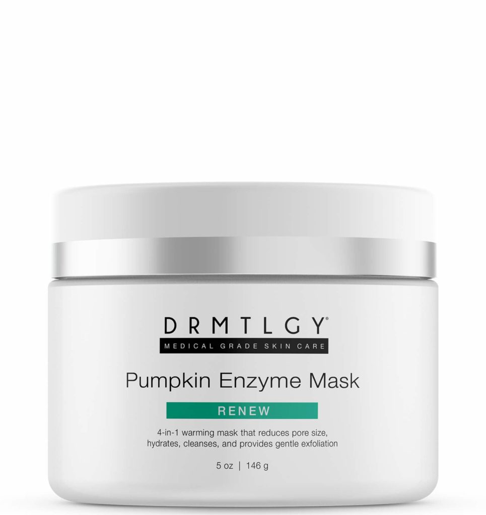 drmtlgy pumpkin enzyme mask