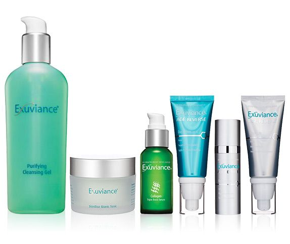 exuviance skin care line