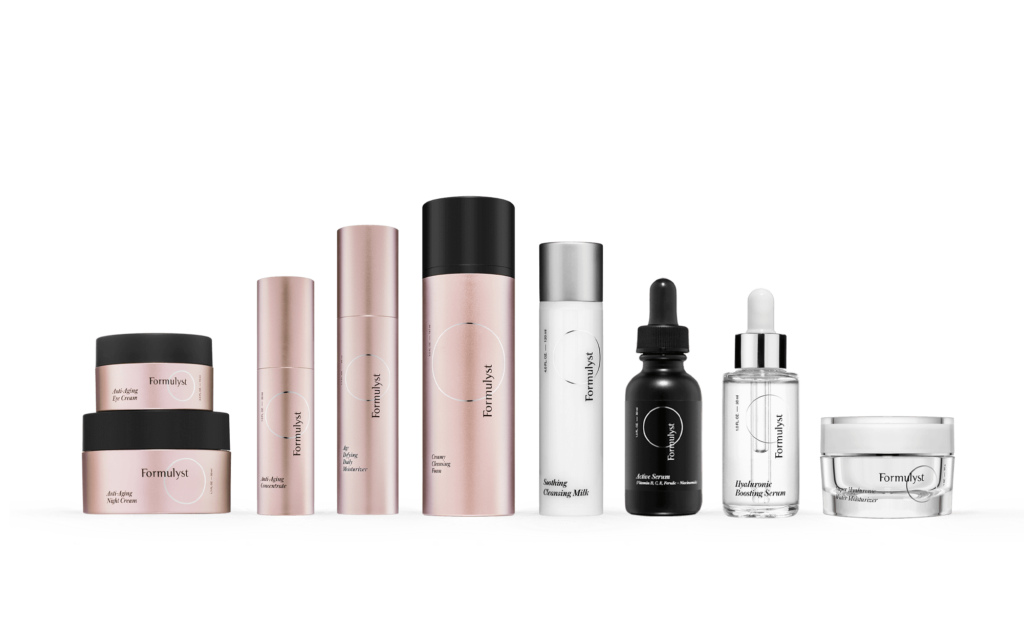 formulyst skincare products