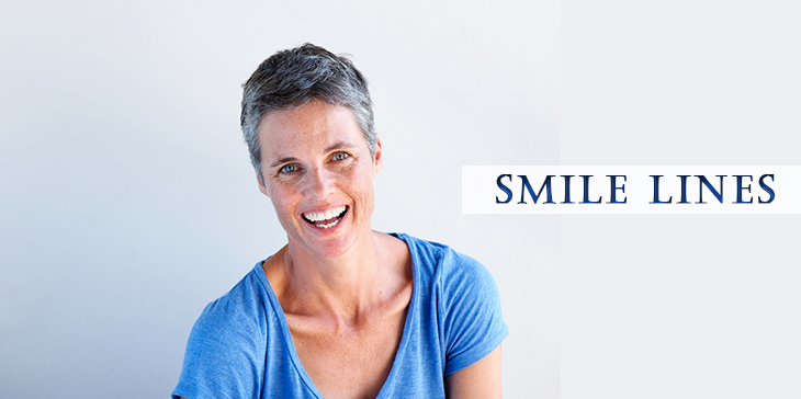 happy mature woman smiling