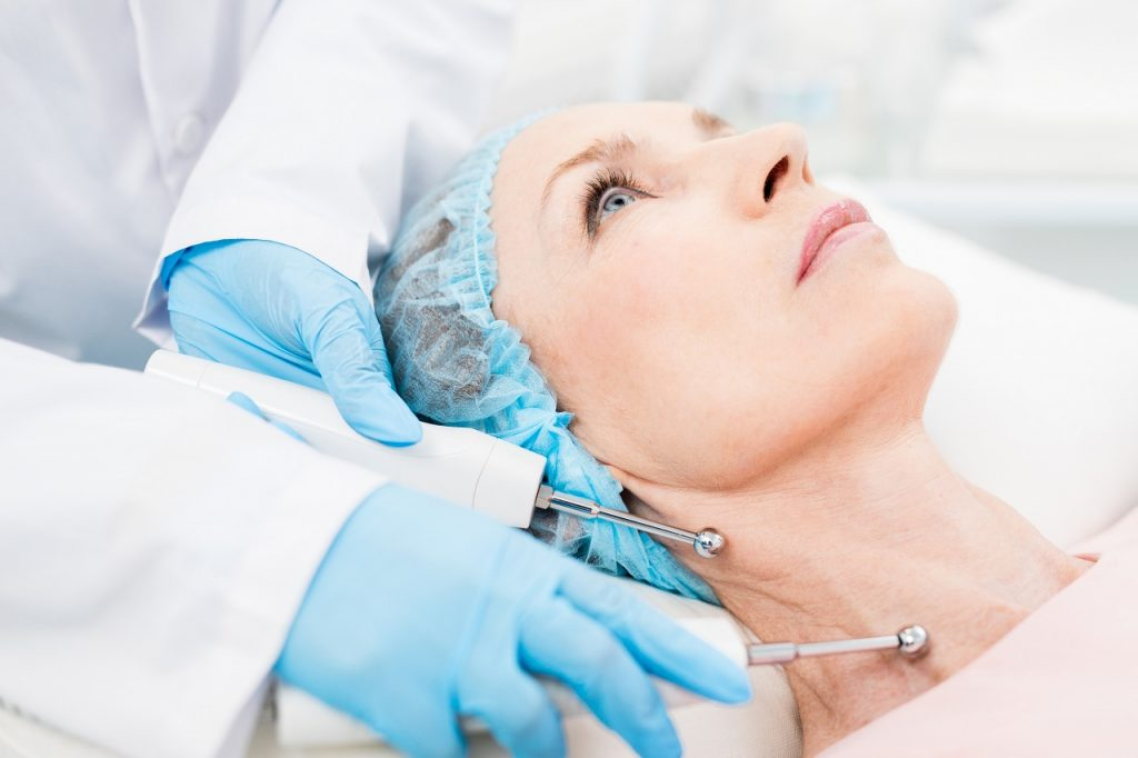 Rejuvenating neck skin